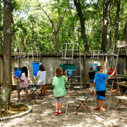 Painting Usdan Summer Camp