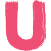 Usdan Pink Paint U Icon