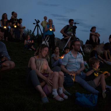 Solar Night Walk with Olafur Eliasson Little Suns